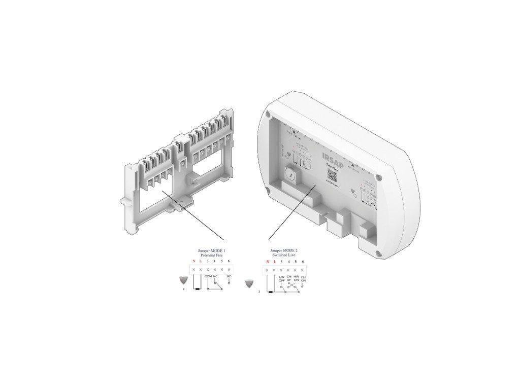 Collega i fili elettrici in base alle illustrazioni mostrate