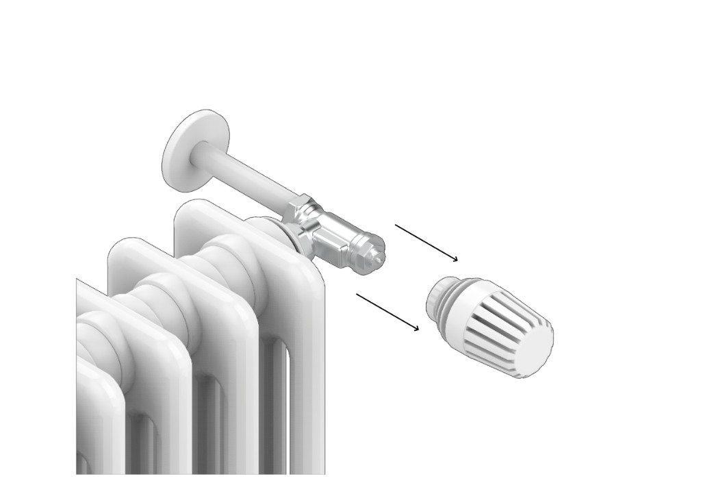 Per capire se la valvola idraulica del tuo radiatore è termostatizzabile