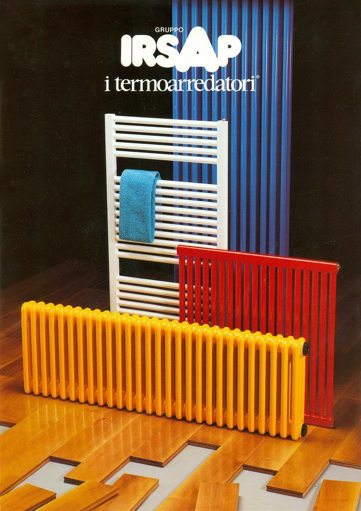 Radiatori termosifoni colorati modulari